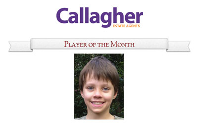 Charlie - Player of the Month August 2013