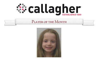Tessa-Rose - Player of the Month May 2014