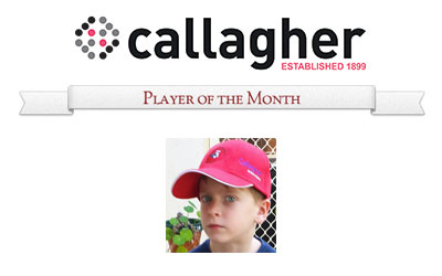 Will - Player of the Month April 2015