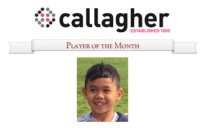 Amir - Player of the Month July 2016