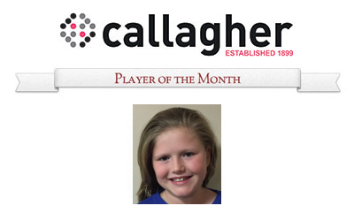 Heidi - Player of the Month June 2016