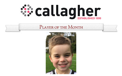 Lachlan - Player of the Month June 2016