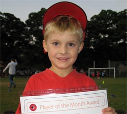 Dylan - Player of the Month April 2008