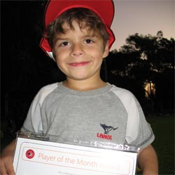 Max - Player of the Month April 2008