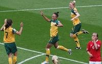 Matildas celebrate - photo