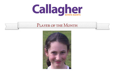 Sophie - Player of the Month July 2011 thumbnail image