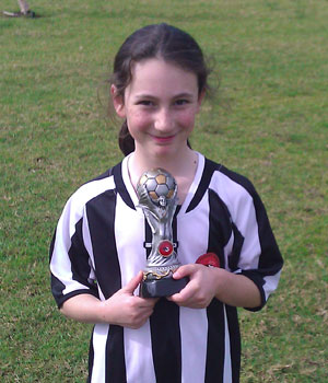 Sophie - Player of the Month July 2011 photo