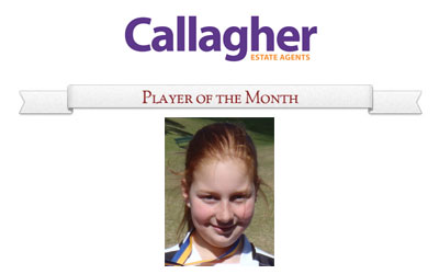 Christina - Player of the Month August 2012