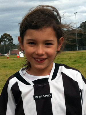 Sophie - Player of the Month August 2012