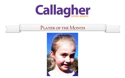 Cora - Player of the Month May 2013