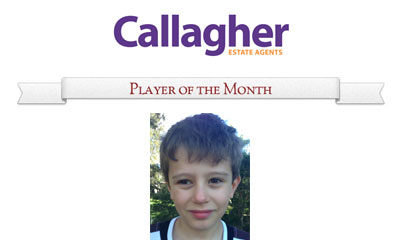 Lachie - Player of the Month May 2013
