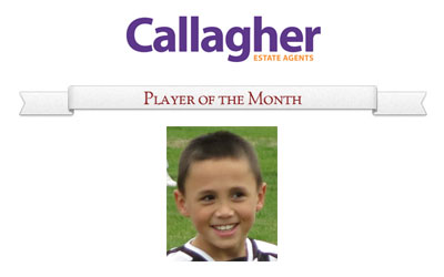 Charlie - Player of the Month June 2013