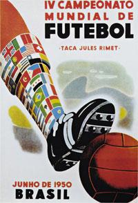 Brasil 1950 poster