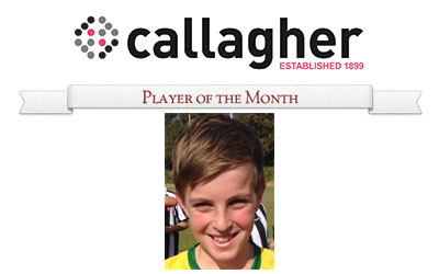 Samuel  - Player of the Month April 2014