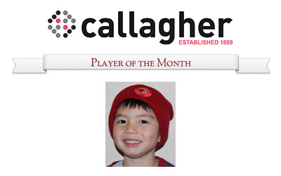 Coby - Player of the Month July 2014