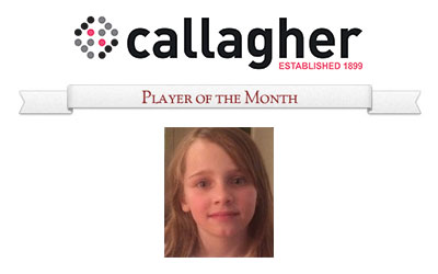 Bonnie - Player of the Month July 2015