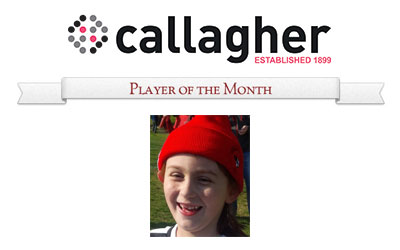 Isabella - Player of the Month June 2015