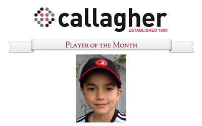 John - Player of the Month May 2015