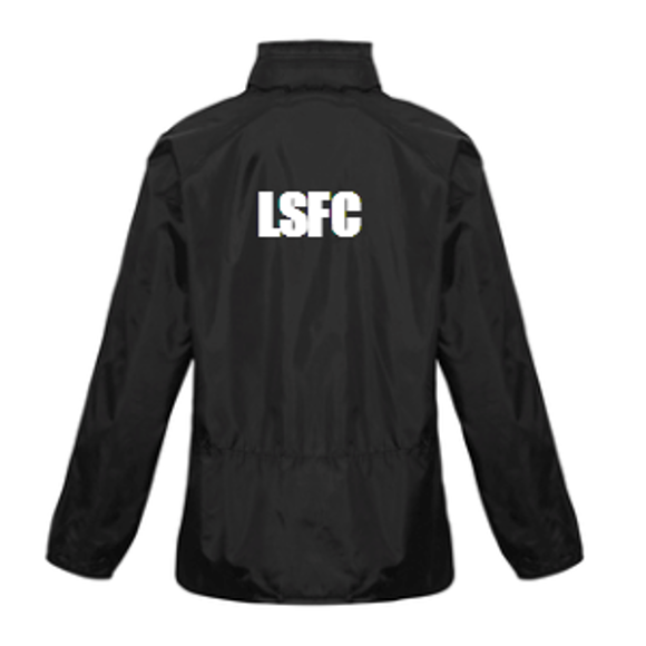 Leichhardt Saints Hooded Jacket - Back