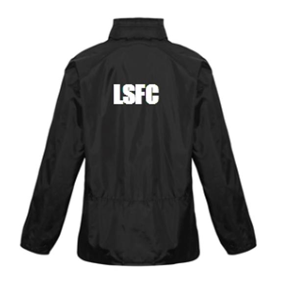 Leichhardt Saints Hooded Jacket - Back